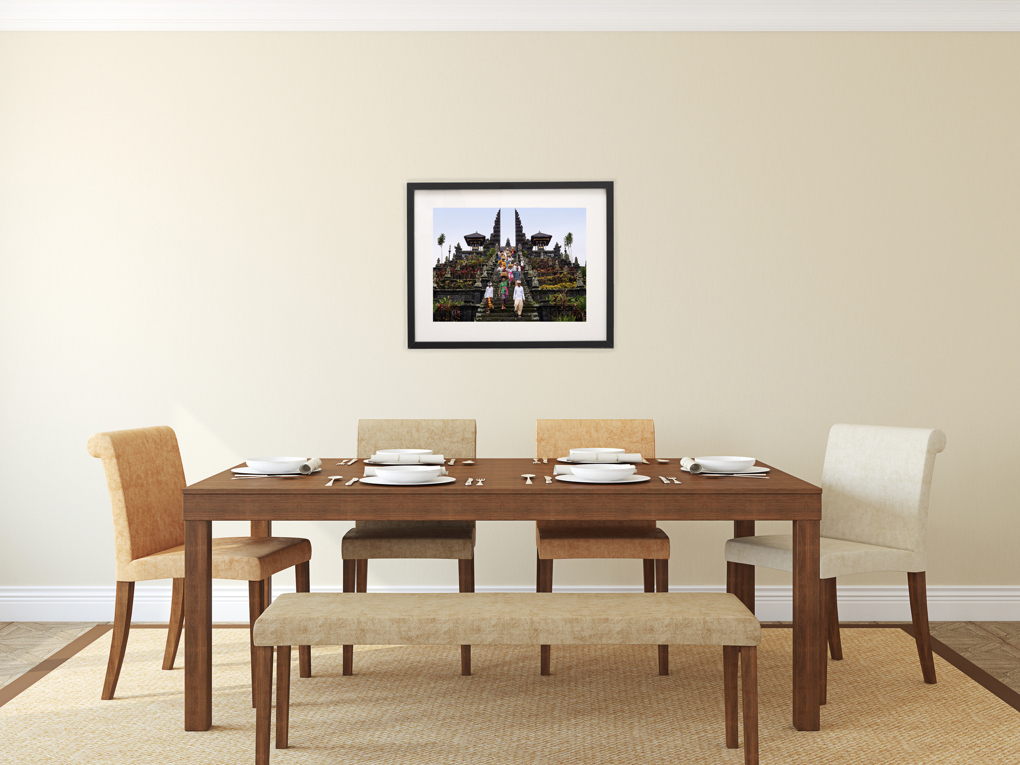 Fine art print after worship dining room nathan for Dining room artwork prints